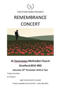 Remembrance Concert 2018